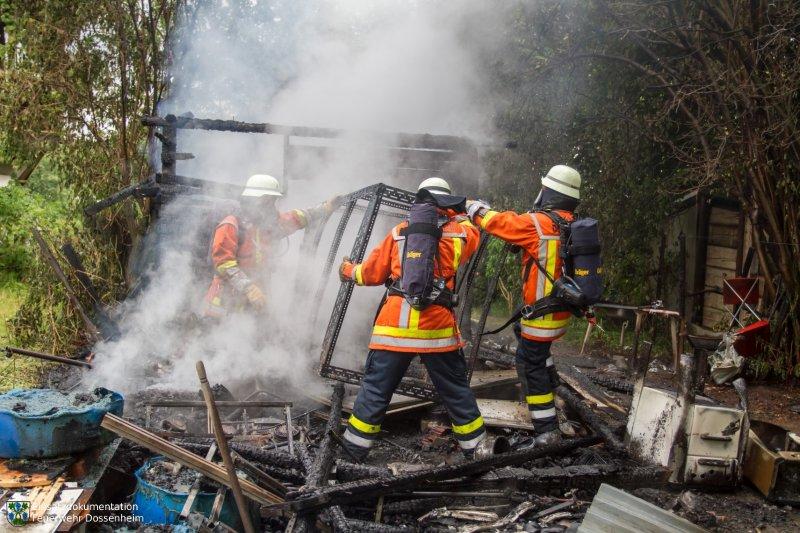 Brandeinsatz vom 01.06.2015     Feuerwehr Dossenheim (2015)