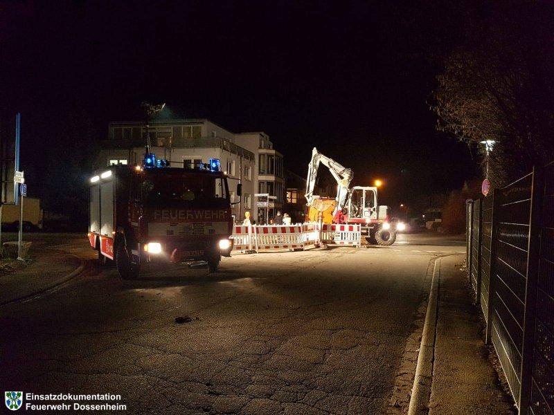 Hilfeleistung vom 12.02.2019  |  Feuerwehr Dossenheim (2019)